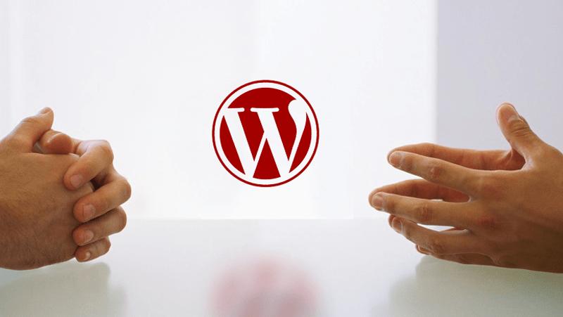 Lass uns über Wordpress reden